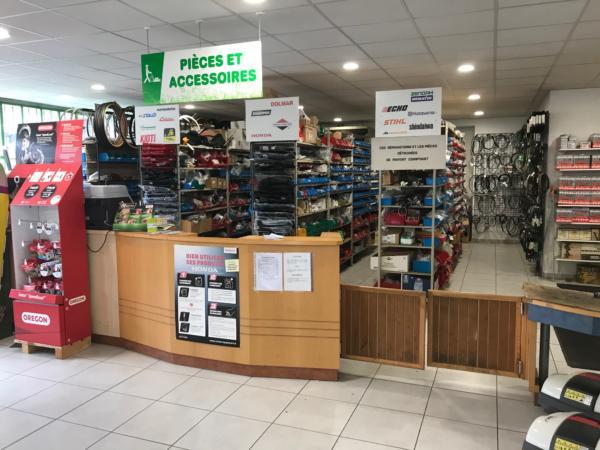 Brioude Motoculture - magasin intérieur 7